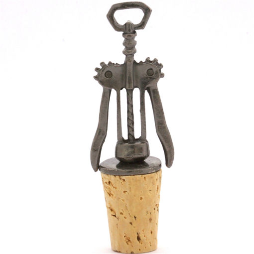 Picture of Bottle Stopper - Wine Time