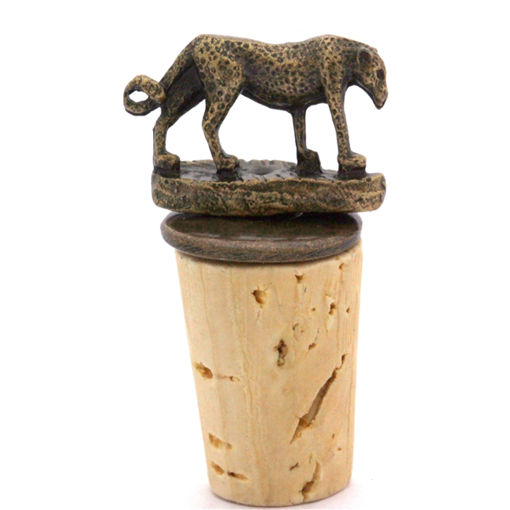 Picture of Bottle Stopper - Leopard