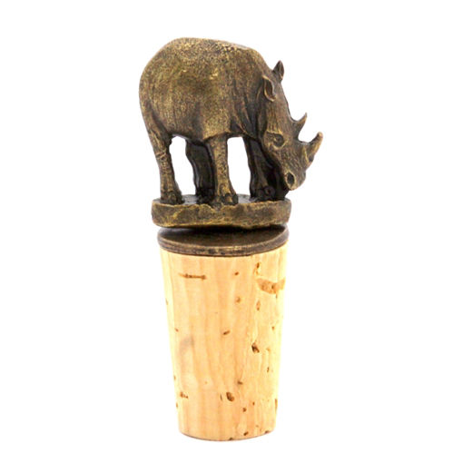 Picture of Bottle Stopper - Rhino