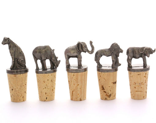 Picture of Bottle Stopper Set - Big 5 (A)