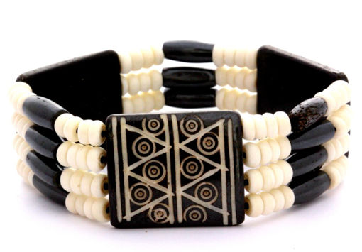 Picture of Bracelet - Bone Bead (Cream)