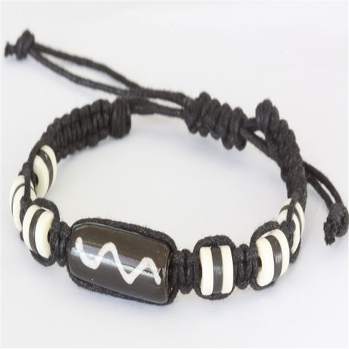 Picture of Bracelet - Bone Bead (Zig Zag)