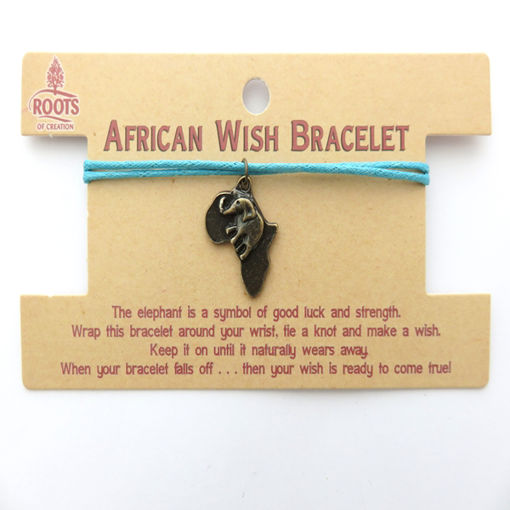 Picture of Bracelet - African Wish (Africa / Elephant)