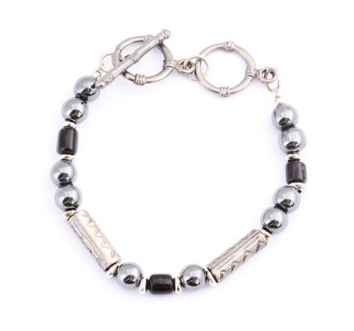 Picture of Bracelet - Hematite (Black Beads)