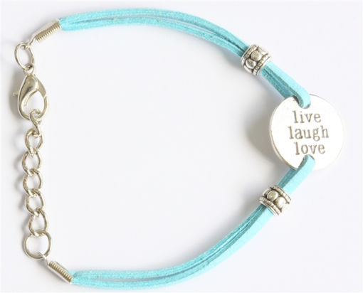 Picture of Bracelet - Positive Affirmation (Live, Laugh, Love)