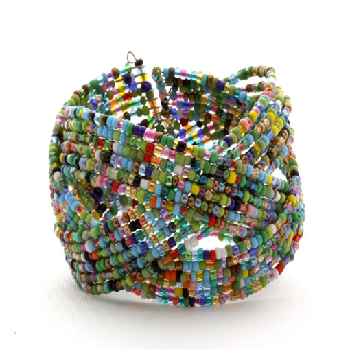 Picture of Bracelet - Wire Beaded
