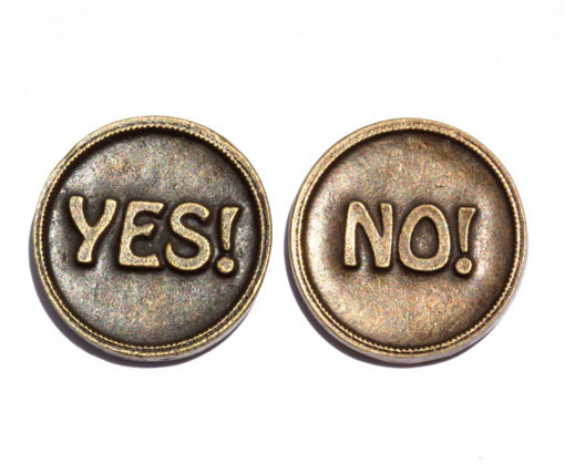 Picture of Decision Making Coin - Yes / No