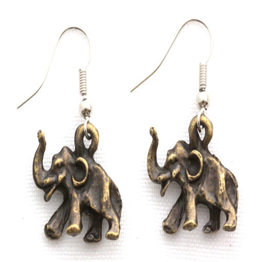 Picture of Earrings - Elephant