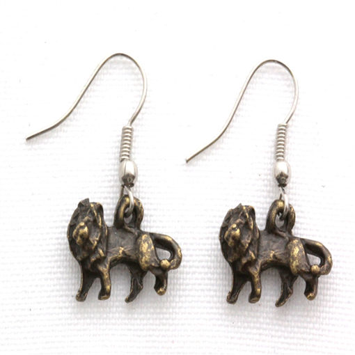 Picture of Earrings - Lion