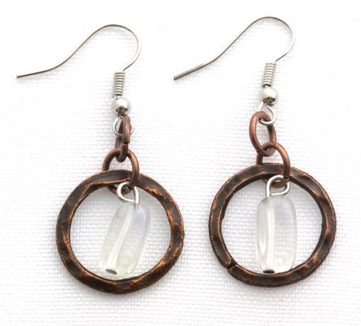 Picture of Earrings - Loop (Opalite)