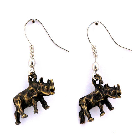 Picture of Earrings - Rhino