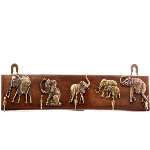 Picture of Key Rack - Elephant (5 Hook)