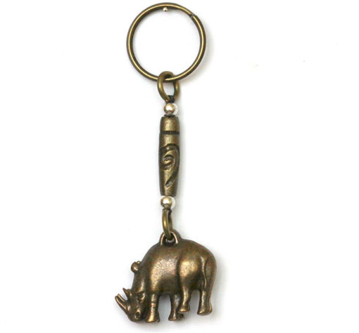 Picture of Key Ring - Double Sided (Rhino)