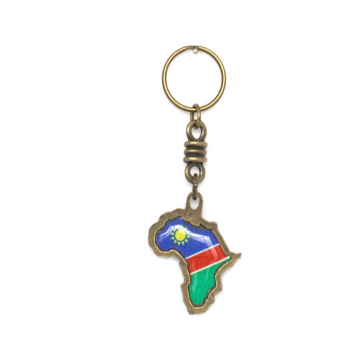Picture of Key Ring - Namibian Flag (Double Sided)