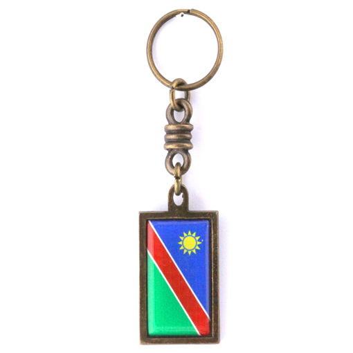 Picture of Key Ring - Namibian Flag
