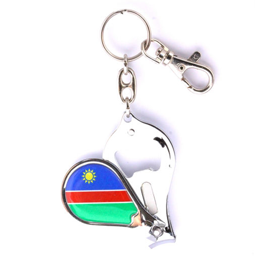Picture of Nail Clipper / Bottle Opener - Namibian Flag
