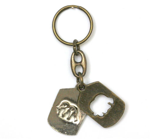 Picture of Key Ring - Single Ethnic (Elephant Pride)