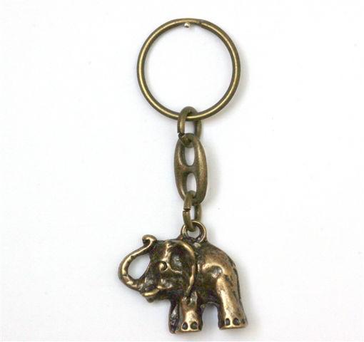 Picture of Key Ring - Single Ethnic (Elephant)