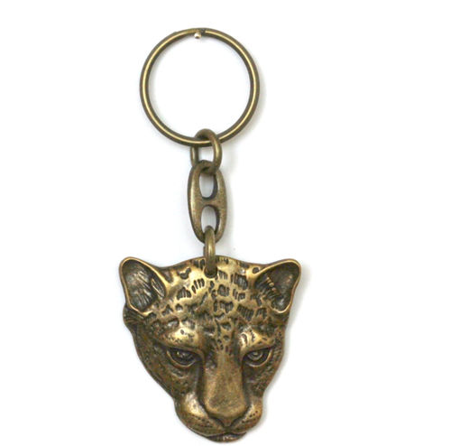 Picture of Key Ring - Single Ethnic (Cheetah)