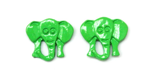 Picture of Children's Earrings - Elephant