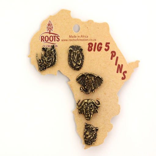Picture of Lapel Pins - Big 5 (Heads)