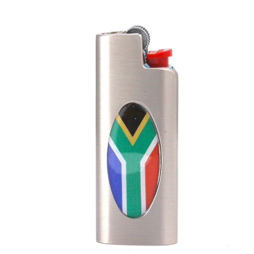 Picture of Lighter Cover - SA Flag