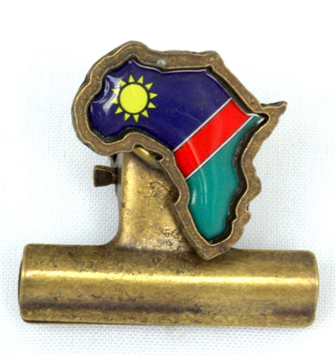 Picture of Bulldog Clip - Namibian Flag (Magnetic)