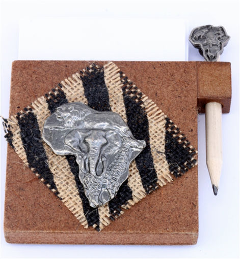 Picture of Paper & Pencil Holder - Africa (Magnetic)