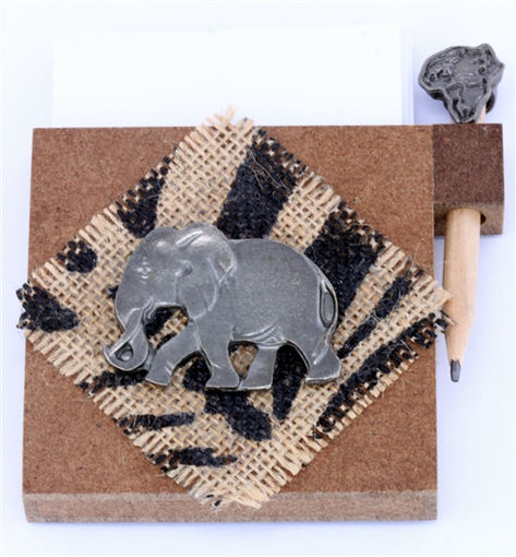 Picture of Paper & Pencil Holder - Elephant (Magnetic)
