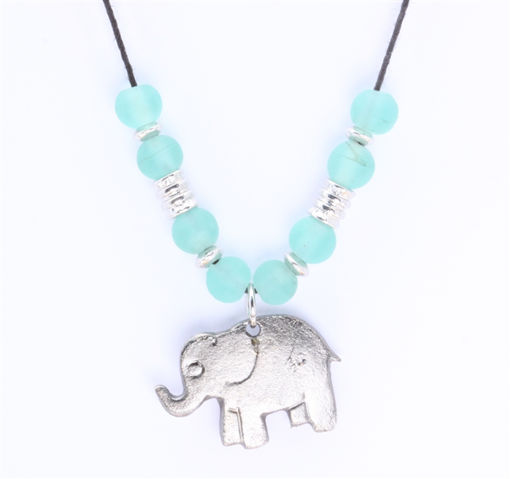 Picture of Choker - Glass & Metal (Elephant)