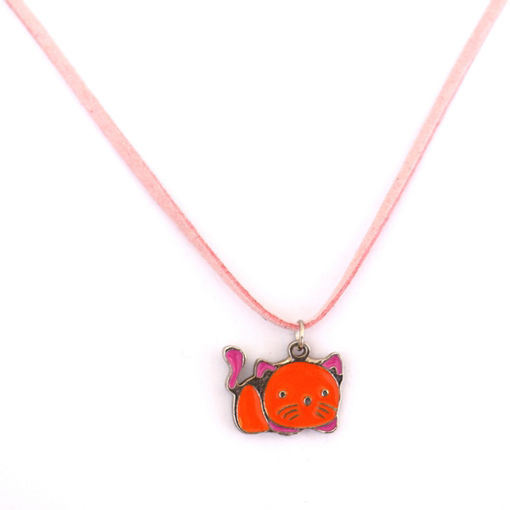 Picture of Children's Choker - Hand Painted (Cat)