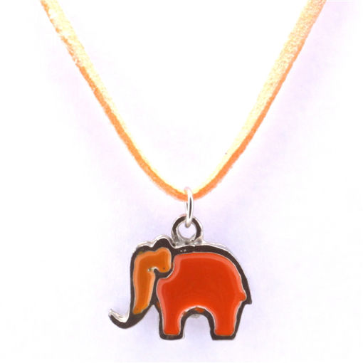 Picture of Children's Choker - Hand Painted (Elephant)