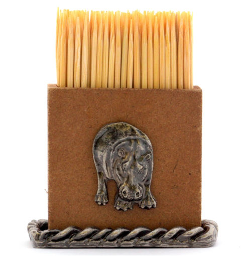 Picture of Table Toothpick Holder - Hippo
