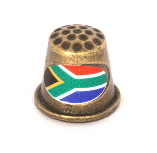 Picture of Thimble - SA Flag