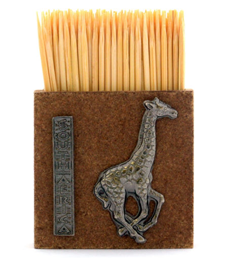 Picture of Toothpick Holder - Giraffe (Magnetic)
