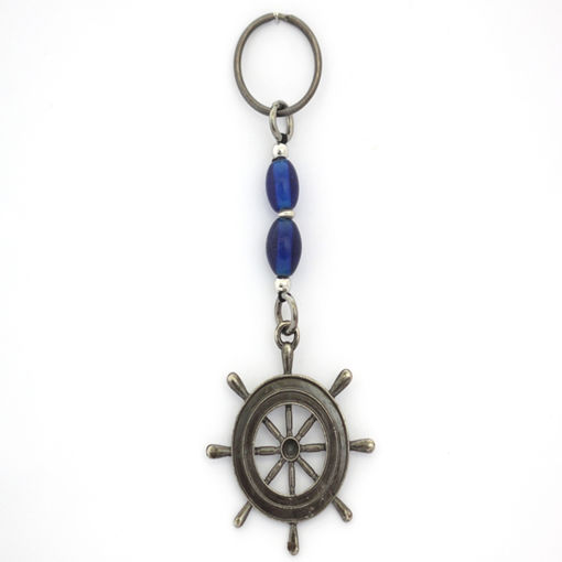 Picture of Key Ring - Single Beaded (Helm)