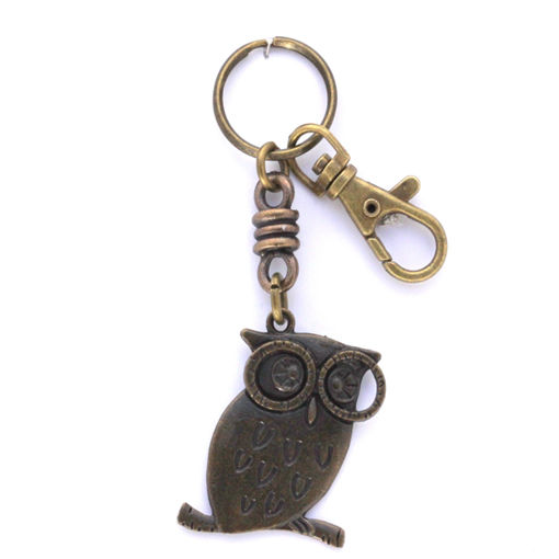Picture of Key Ring - Local with Clip (Owl)