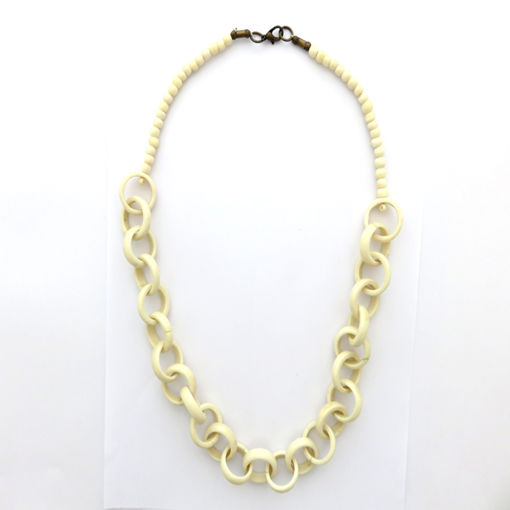 Picture of Necklace - Bone (Cream)