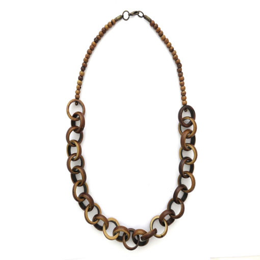 Picture of Necklace - Bone (Light Brown)