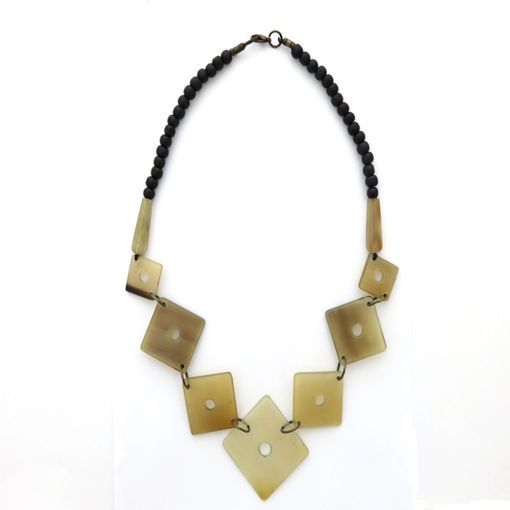 Picture of Necklace - Horn (Square)