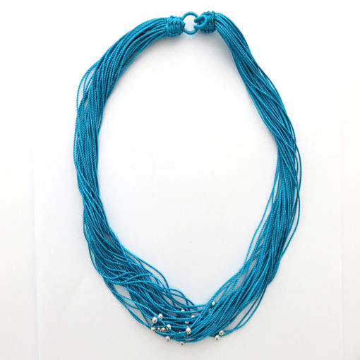 Picture of Necklace - Multi-stranded / Beaded (Turquoise)
