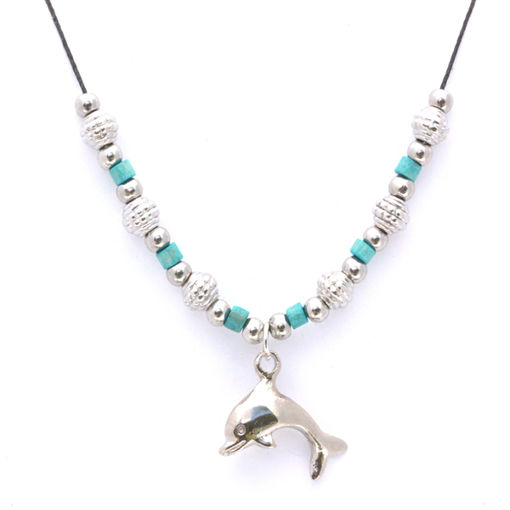 Picture of Choker - Metal & Wood (Dolphin)
