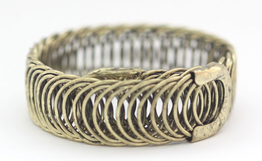 Picture of Bracelet - Metal Wide (Gold Hue)