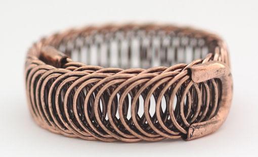 Picture of Bracelet - Metal Wide (Rose Gold Hue)