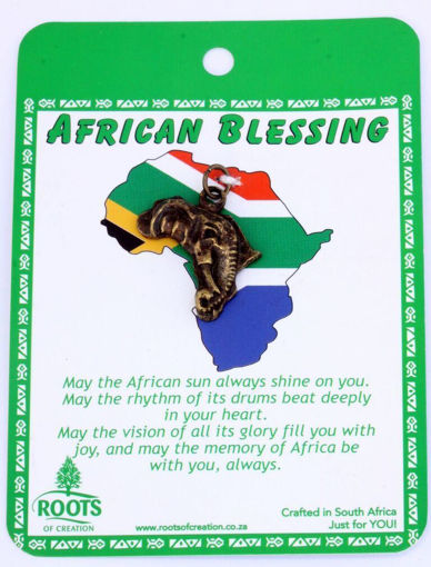 Picture of African Blessing Cards - Africa (Magnetic)