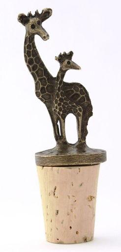 Picture of Bottle Stopper - Giraffe