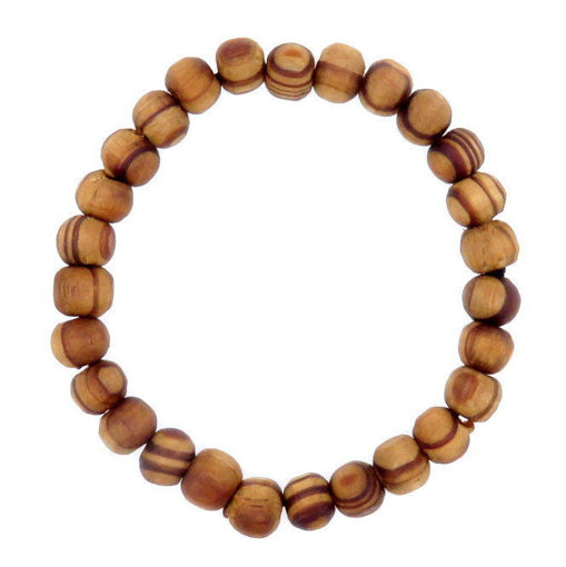 Picture of Bracelet - Wooden  (Tan)