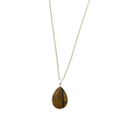 Picture of Choker - Stone on Chain (Tigers Eye)