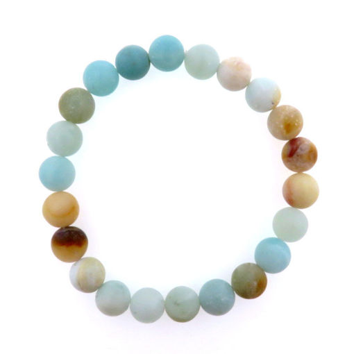 Picture of Bracelet - Unpolished Stone (Amanzonite)