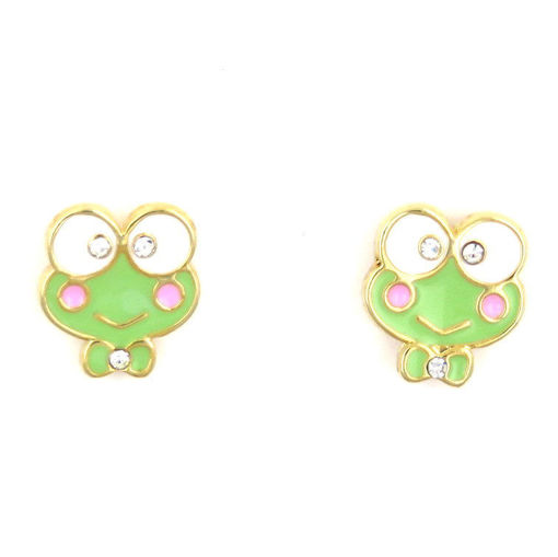 Picture of Children's Earrings - Stud (Frog)